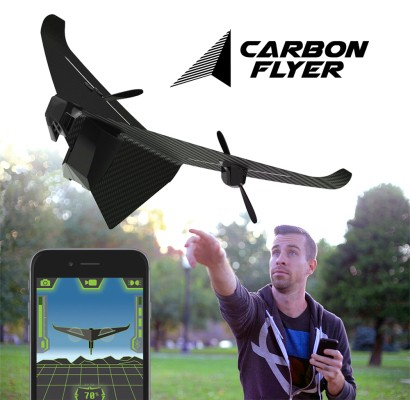 The Father Of The Powersquid Launches A Bluetooth-Enabled Carbon Fiber Drone