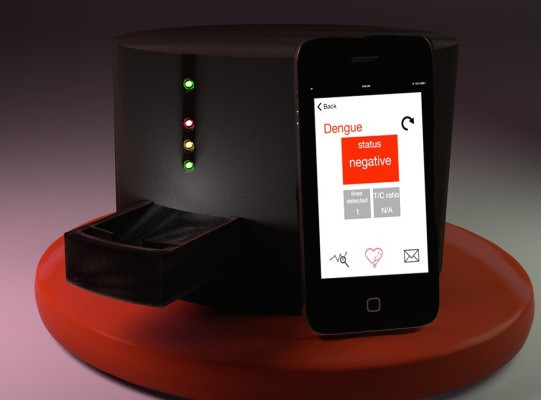 NIH grants $2.3M to development of FeverPhone, a portable disease diagnosis kit
