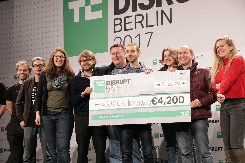 Apply to the TC Hackathon at Disrupt Berlin 2019