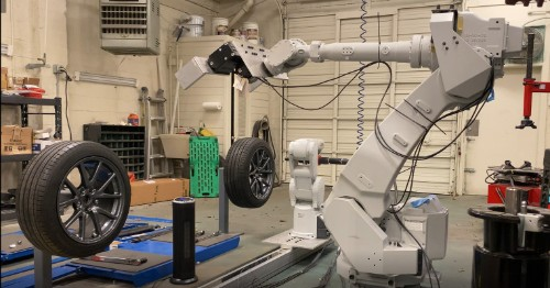 Your next tire change could be performed by a robot – TechCrunch