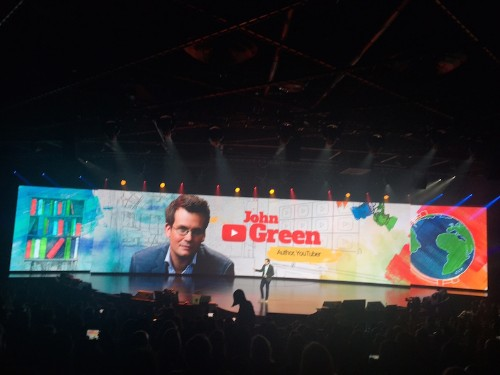 Author And YouTuber John Green Tells Advertisers To Stop Worrying About Eyeballs