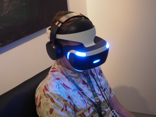 Sony discusses its virtual reality play in a market full of like-minded headsets