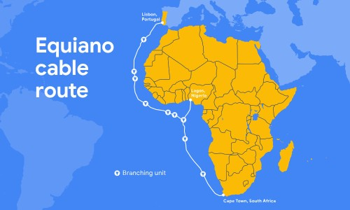 Google is building a new private subsea cable between Portugal and South Africa