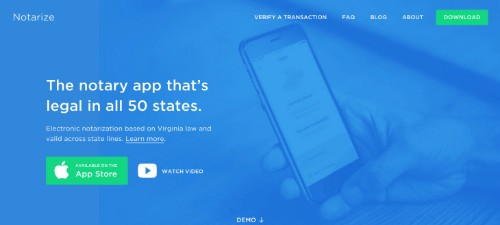 Now You Can Swipe For An On-Demand Notary, Too