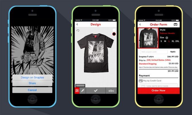 Custom T-Shirt Design App Snaptee Launches Partnership Program
