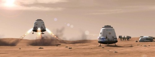 """SpaceX's Mars Colonial Transporter can go """"well beyond"""" Mars – TechCrunch"""