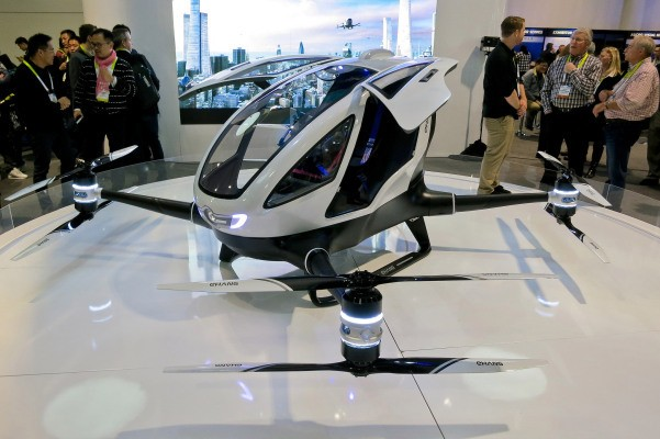 EHang reveals plans to deploy its passenger drones for emergency organ deliveries – TechCrunch