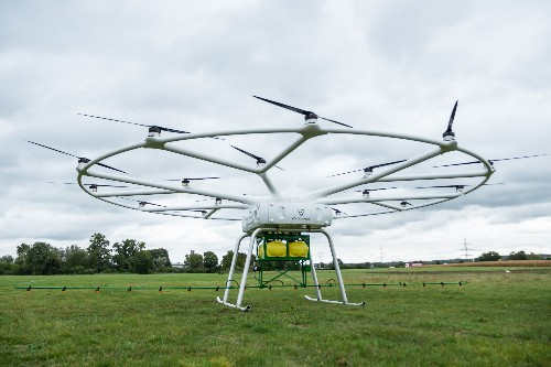 Volocopter and John Deere team up for a crop-spraying autonomous agricultural drone