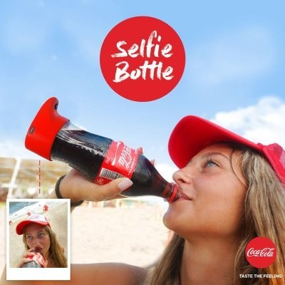 Coca-Cola made a selfie bottle; luckily humans only have 1,000 years left