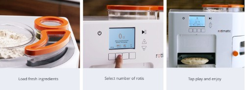 I, for one, welcome our new robotic roti-making overlords