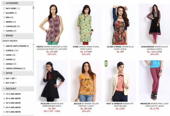 India Fashion Portal Myntra Raises $50M On A $200M Valuation As Amazon And Flipkart Circle