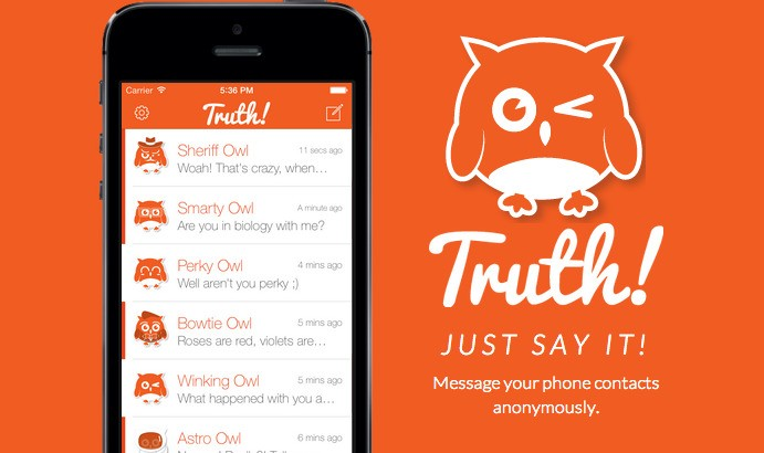 Truth Lets You Send Anonymous Texts