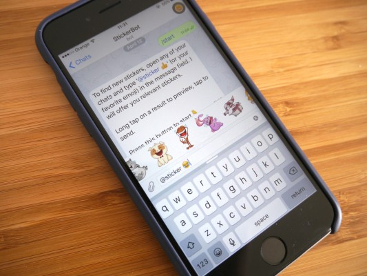 Telegram now lets users buy things from chatbots in its messaging app