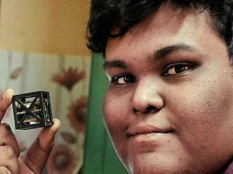 World's Smallest Satellite Created for NASA by 18-Year-Old Indian Teen