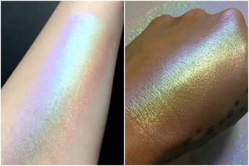Chaos Makeup Rainbow Highlighter Is Everything