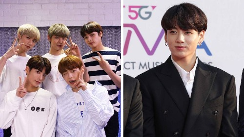 BTS Member Jungkook Wrote the Cutest Supportive Note to TXT