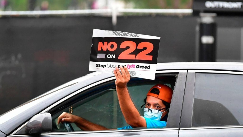 Prop 22 Is an Assault on the Rights and Dignity of Uber, Lyft, Postmates Workers