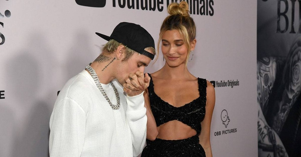 "Hailey Bieber Celebrated Her First Anniversary with a ""J"" Tattoo"