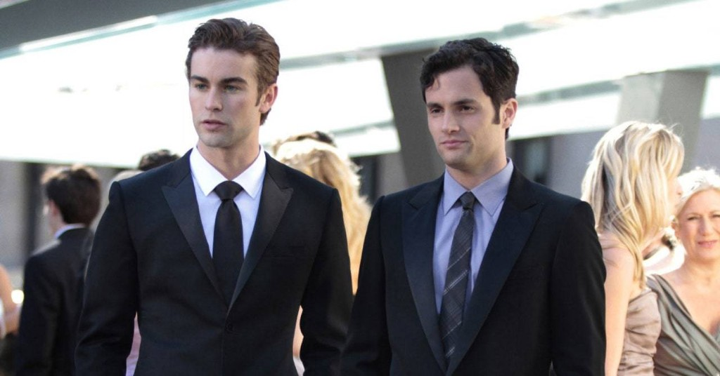"""""""Gossip Girl"""" Stars Penn Badgley and Chace Crawford Reunited to Reflect on Dan and Nate"""