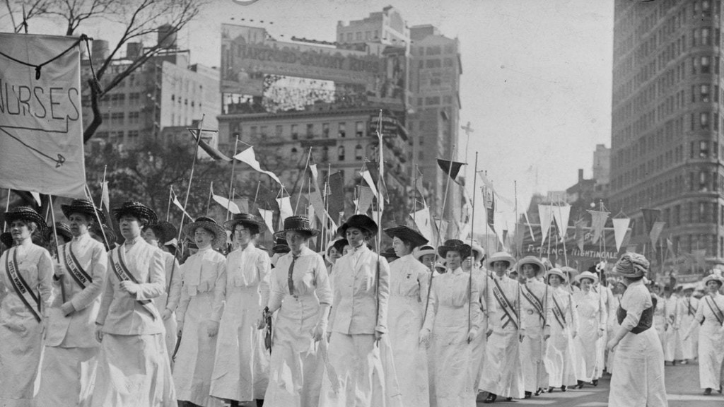 Nurses Have a History of Activism in the U.S., Championing Suffrage and Health Care Access