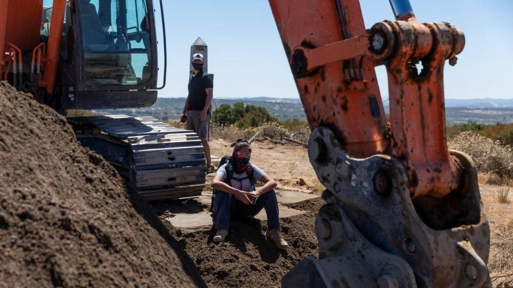 Trump's Border Wall Construction Disrupted by Kumeyaay, O'odham Land Defenders