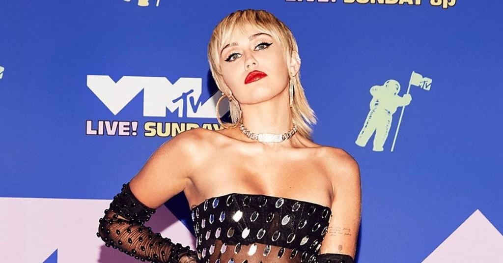 Miley Cyrus Rocks Sheer Mugler Bodysuit at iHeartRadio Music Festival