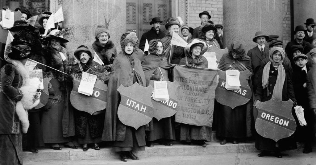 Women's Suffrage Leaders Left Out Black Women