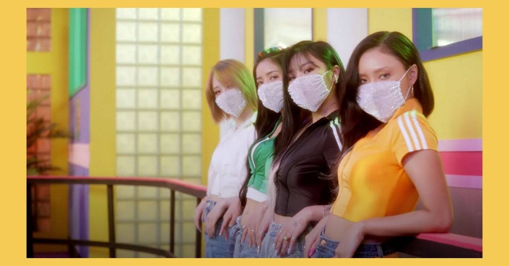 "MAMAMOO Return With Punchy, Fun ""Dingga"" Music Video"
