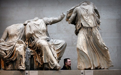 Fears raised that EU will back Greece over return of Elgin Marbles in Brexit trade talks