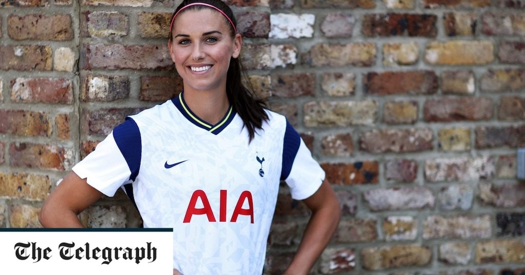 Alex Morgan in contention to make Tottenham debut in north London derby