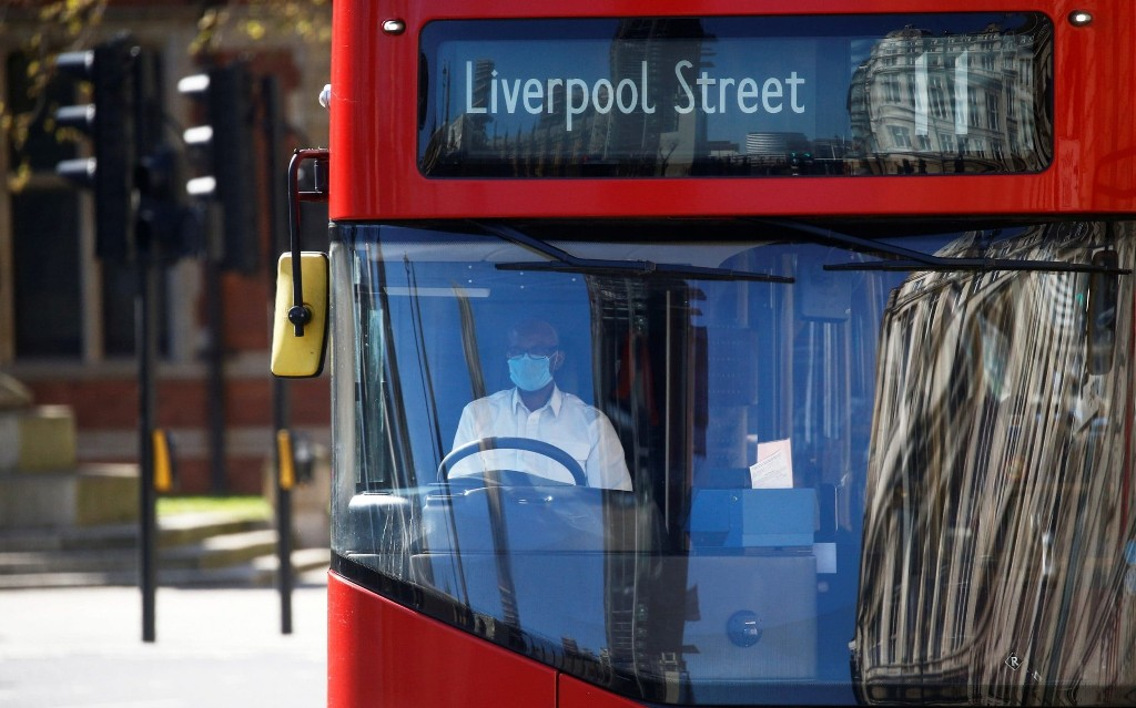 Five London bus workers killed by coronavirus