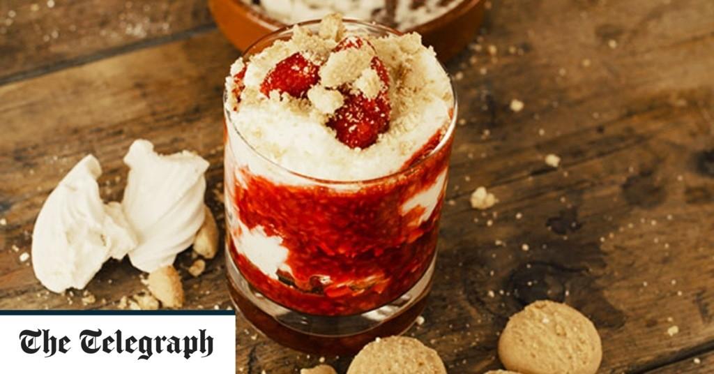 10-minute raspberry and meringue mess recipe