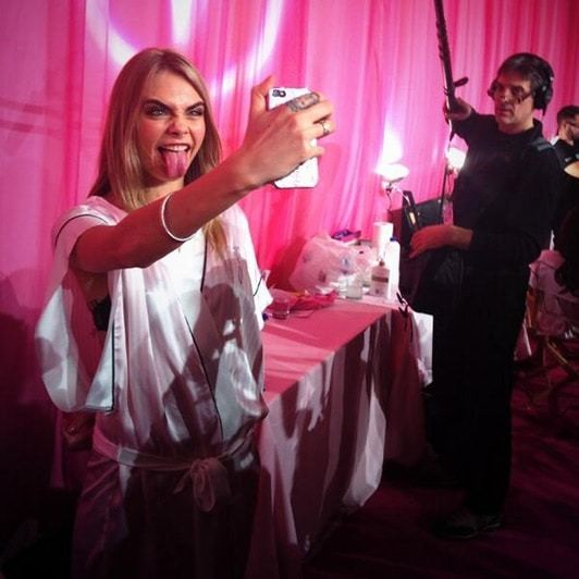 Victoria's Secret show 2013: Cara Delevingne does sexy