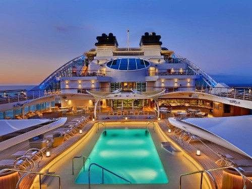 We joined the world's most luxurious new cruise ship on its maiden voyage to Bali