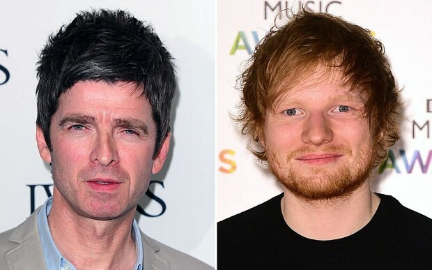 Noel Gallagher condemns Ed Sheeran for 'selling out'