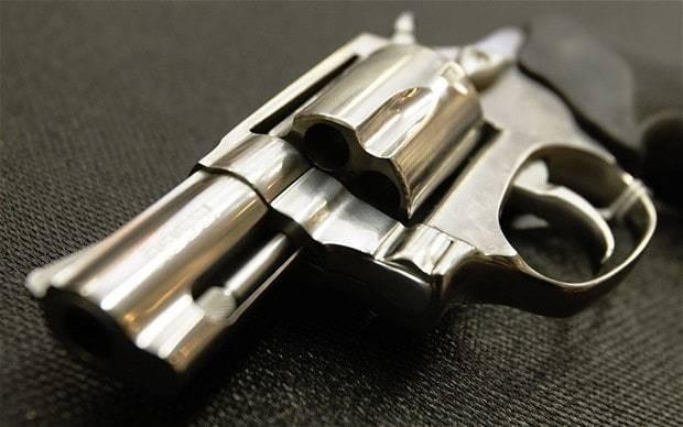 Pupils found with handguns in school
