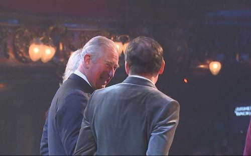 Prince Charles is birthday guest of honour at 'Most Amused and Amazed' gala