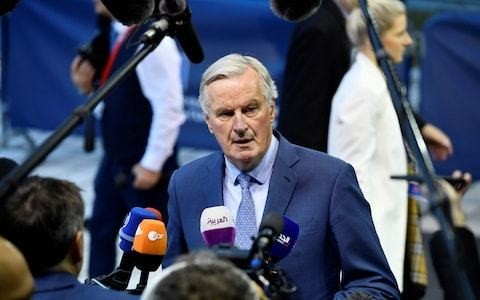 Michel Barnier warns Brexit may have to be delayed in blow to Tory election campaign