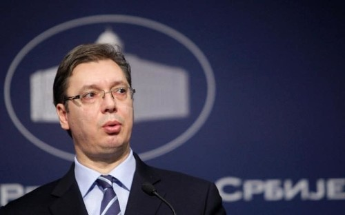 Serbia PM moved to safety after weapons found near home