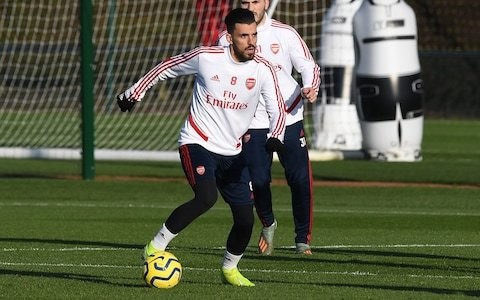 Mikel Arteta wants Dani Ceballos to regain fitness and fight for place in Arsenal team