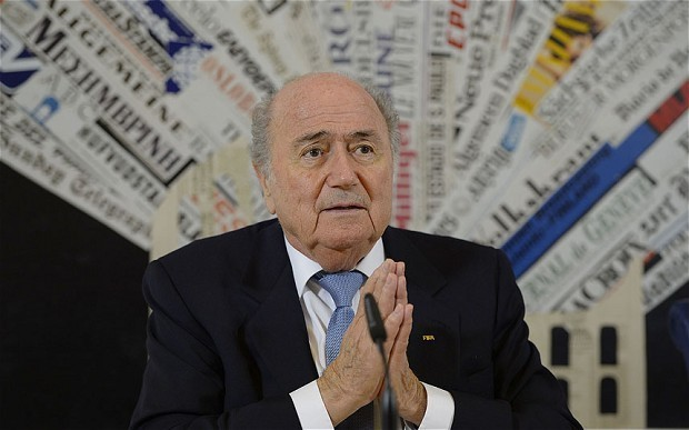 Uefa to stage sit-down protest against Blatter's refusal to end controversial 16-year Fifa reign