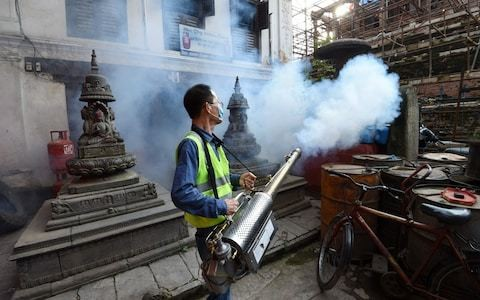 Thousands fall ill as Nepal becomes latest country to be hit by dengue outbreak