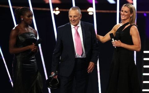 John Blackie, Dina Asher Smith's mentor, wins BBC Coach of the Year award at SPOTY