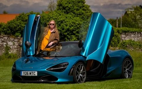 Hell for leather: ancient meets modern in a McLaren 720S