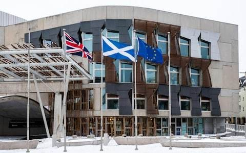 Nationalist MSPs to force Scottish Parliament chiefs to fly EU flag after Brexit