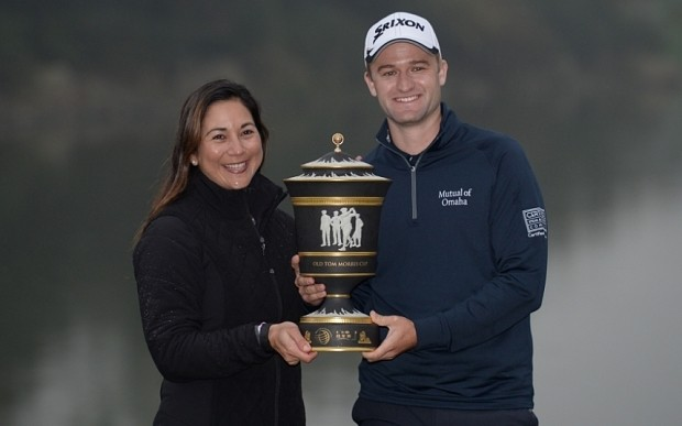 Russell Knox celebrates surprise Shanghai success in a field that included Rory McIlroy and Jordan Spieth