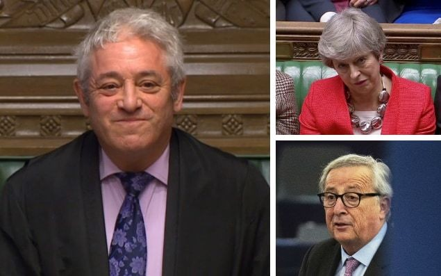 John Bercow's brief intervention may mean a long journey lies ahead before we get to a Brexit deal