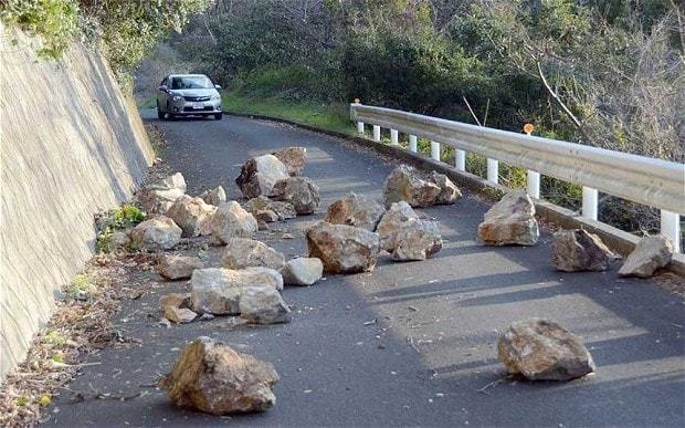 Japan hit by 6.3-magnitude earthquake