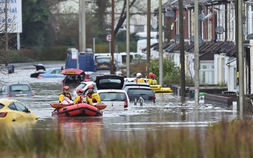 Storm Dennis leaves a trail of devastation - just one week after Storm Ciara