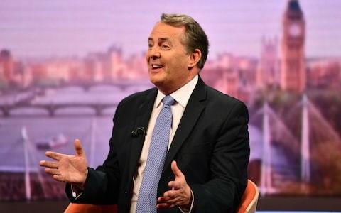 Liam Fox to call for the UK to invest in business to seize 'golden opportunity' post-Brexit